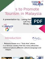 Ways to Promote Tourism in Malaysia