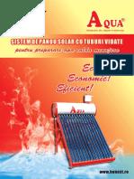 Sistem Panou Solar montare