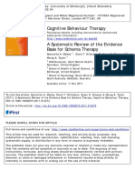 A Systematic Review of the Evidence Base for Schema Therapy