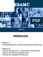 Analise Financeira e Orçamentaria