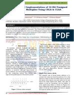 VLSI Implementation of 32-Bit Unsigned Multiplier Using CSLA & CLAA