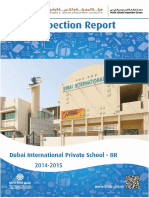 KHDA Dubai International Private School Br 2014 2015
