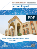 KHDA Dubai Arabian American Private School 2014 2015