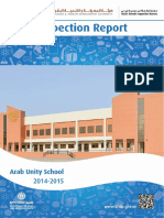 KHDA Arab Unity School 2014 2015
