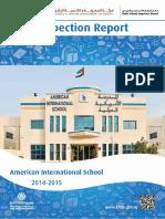 KHDA American International School 2014 2015