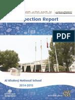 KHDA Al Khaleej National School 2014 2015