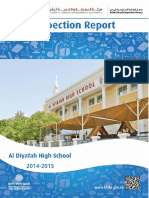 KHDA Al Diyafah High School 2014 2015