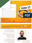 Piratenpartei - Grosser Rat Bern 2010 - Folder A5