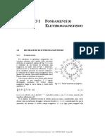 Cap.1 Fondamenti Elettromagnetismo