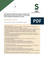 106 Preguntas y Respuestas Ley 39-2015