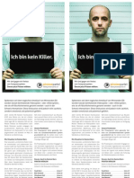 "Piratenpartei - Grosser Rat Bern 2010 - Flyer ""Killerspiele"""