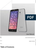 Alcatel OneTouch Fierce XL user manual
