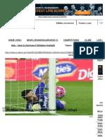 AC Milan Unlucky to Face Sensational Buffon - Allegri - Goal