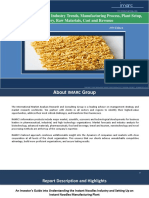 Instant Noodles Market - Industry Trends, Plant Setup and Manufacturing Requirements
