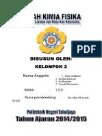 Sifat Koligatif & KSP