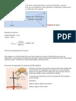Resumo f.q. sobre densidade