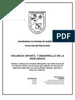 Violencia Infantil y Desarrollo de La Resiliencia 97-2003