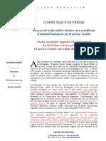 Alain Joyandet dénonce la hausse du prix des cartes grises pour les Francs-Comtois