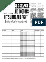 UTR Contact Sheet Teachers & Junior Doctors 240416
