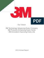 3M - 2013 Annual Report