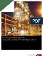ABB - 2013 Annual Report
