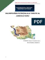 Program de Valorificare a Potentialului Turistic -Gorj