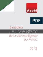 E-Madina Le Livre Blanc de LAPEBI Pour Les Villes Intelligentes Au Maroc