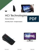 assignment 1 hci technolgies