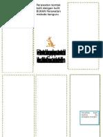 Leaflet PKMRS Mengenal Lebih Dekat Metode Perawatan Kulit Dengan Kulit