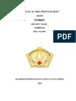 SAP Febris