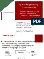 Assemblers PPT