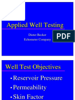 Applied Well Testing