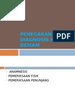 Penegakan Diagnosis Kejang Demam