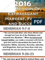 2016 Our Season of Extravagant Harvest Favor and Success Apostle Abraham 010116