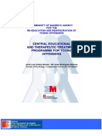 Tratamiento Educativo y Terapéutico Para Adolescentes Infractores Programm