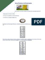 Sistema Romano de Numeração