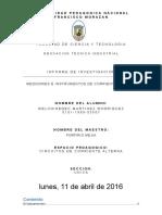 Informe Sobre Medidores a.C. de Corrient