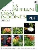 Atlas Tumbuhan Obat Indonesia Jilid 3