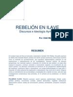 Rebeliòn en Ilave - Ensayo_Eddi Sucari