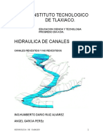 Canales Revestidos pavimentos