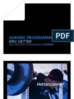 Aerobic Programming Eric Oetter