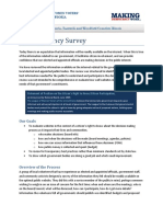 ETransparency Summary