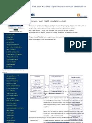 Website Capture Www fscockpit com | Aviation | Technology