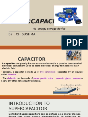 Super Capacitor | Energy Storage | Capacitor