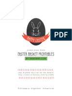 Armommy Easter Printables