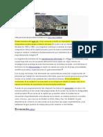 Problemática Urbana Lima