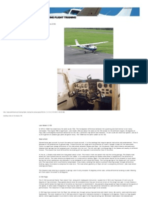 Handling Notes on the Cessna 150 | Aircraft Flight Control System