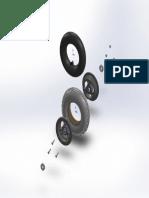 WheelHUB Assemble Explode