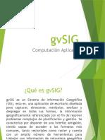 Introducción a gvSIG