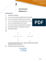 Chemistry Solution 2015 Set 1
